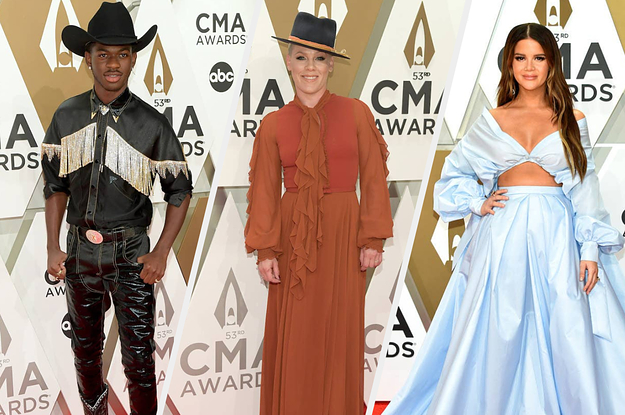 Here Are All The Standout Looks From The CMAs Red Carpet — And, Yes, There Was A Lot Of Sparkle