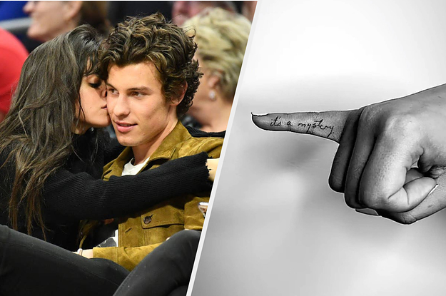 Shawn Mendes And Camila Cabello Went On A Tattoo Date Together