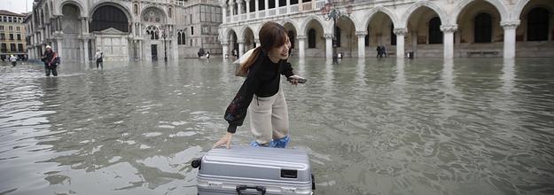 ヴェネツィア 水没