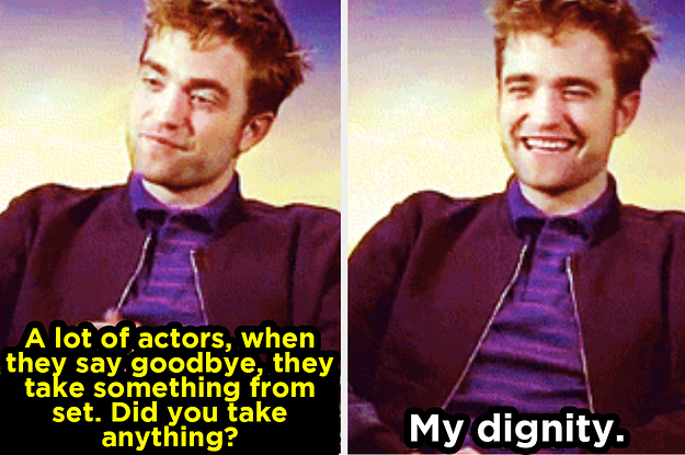 "18 Throwbacks That Prove Robert Pattinson Is ""Twilight's"" Biggest Troll"