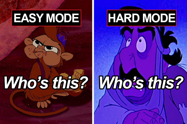 "This Disney ""Aladdin"" Quiz Has An Easy And Hard Mode"
