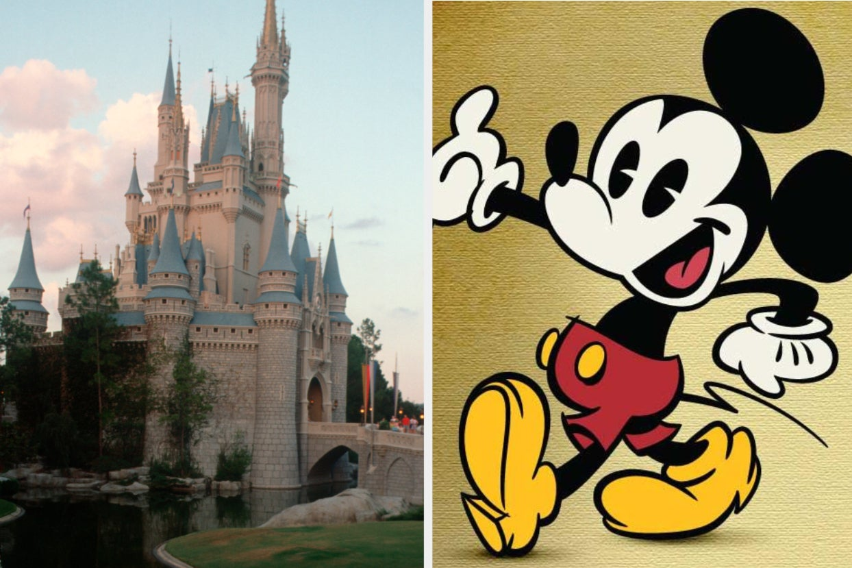 Plan A Day At The Magic Kingdom And We'll Tell You Which Classic Disney Cartoon Character You Are
