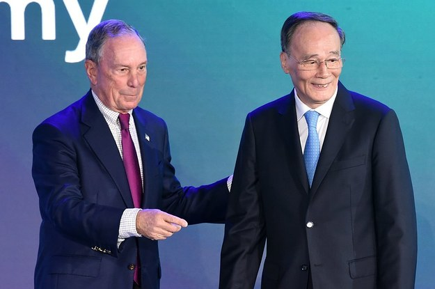 Mike Bloomberg Wont Attend His Companys China Summit As His Possible Campaign Gets Serious