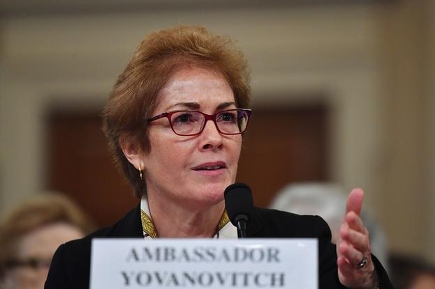 Marie Yovanovitch Is Not A Victim