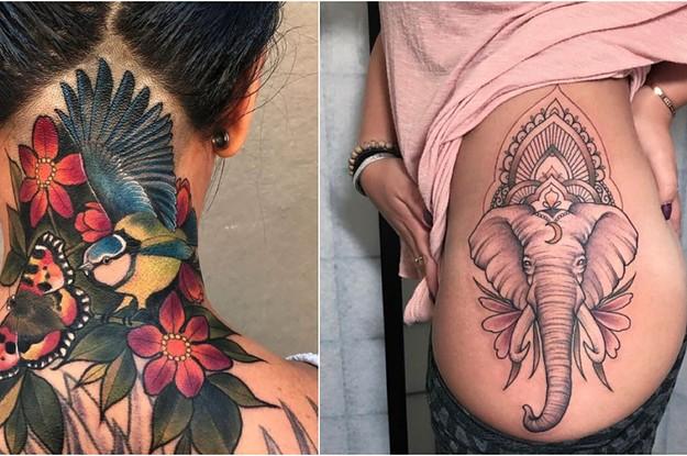 17 Tattoos, die wirklich Kunstwerke sind