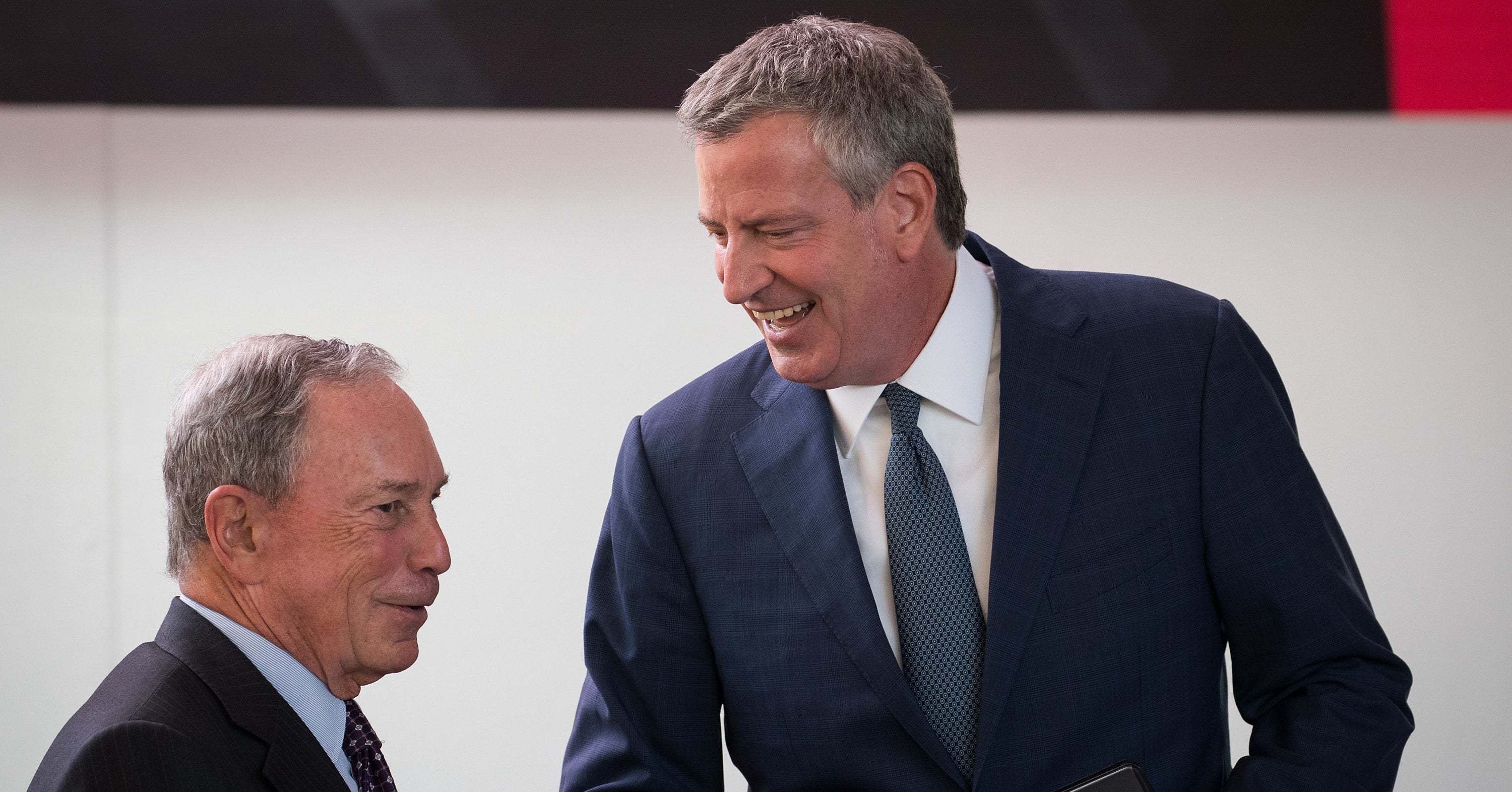 """Bill De Blasio Said Mike Bloomberg's Stop-And-Frisk Apology Is """"Hard To Believe"""""""