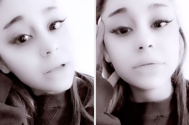 Ariana Grande Gave A Tearful Apology To Fans For Canceling A Show After Weeks Of Being Sick
