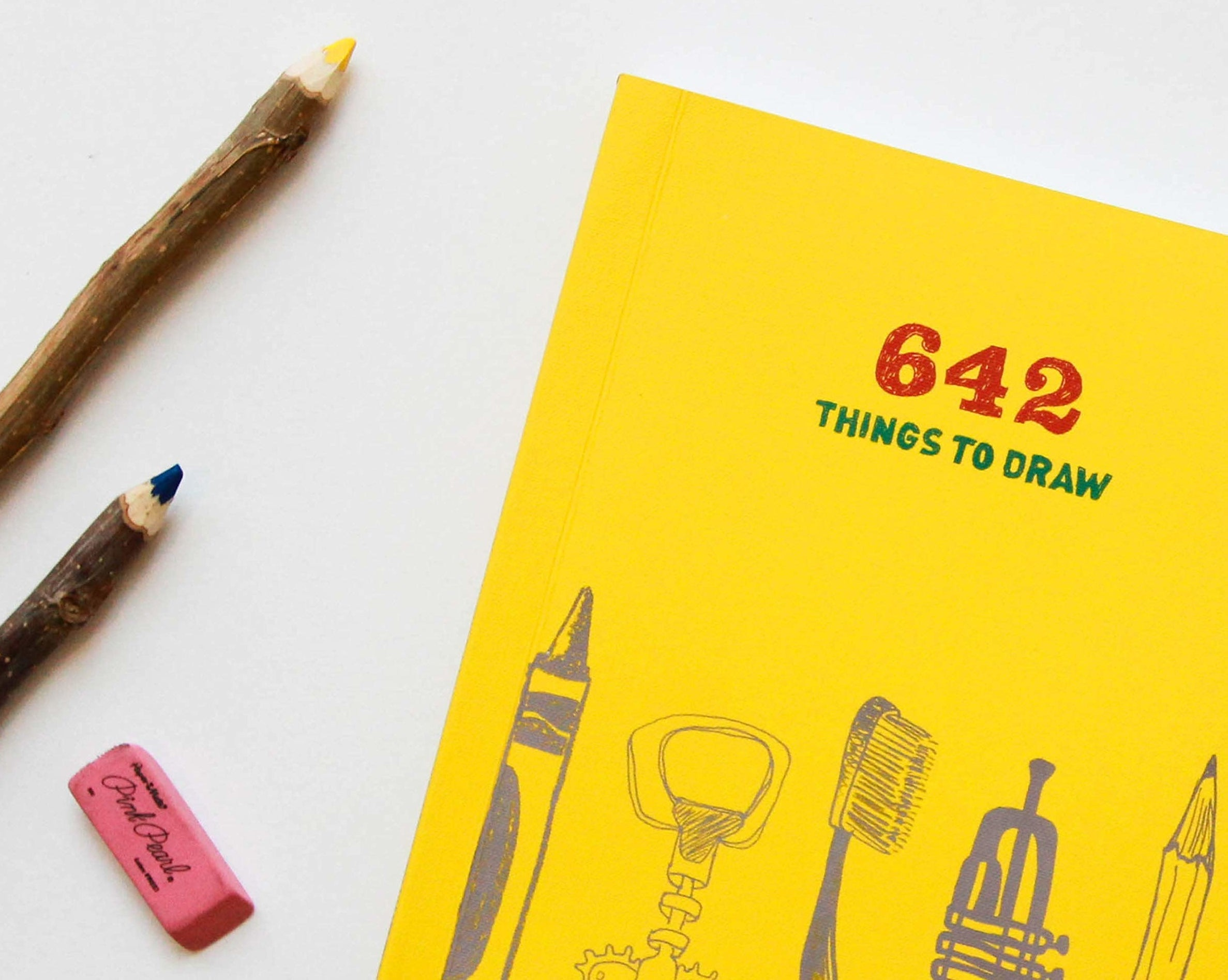 book that says 642 things to draw