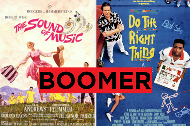 If You've Seen 31/48 Of These Movies, Then You're Probably A Boomer