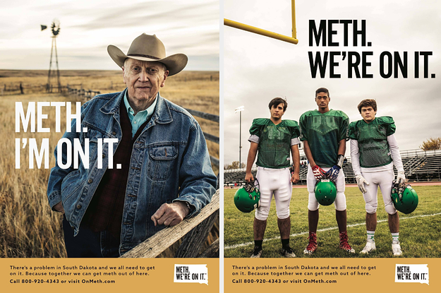 "South Dakota's ""Meth. We're On It."" Campaign Is Going Viral, And Officials Say That's The Point"