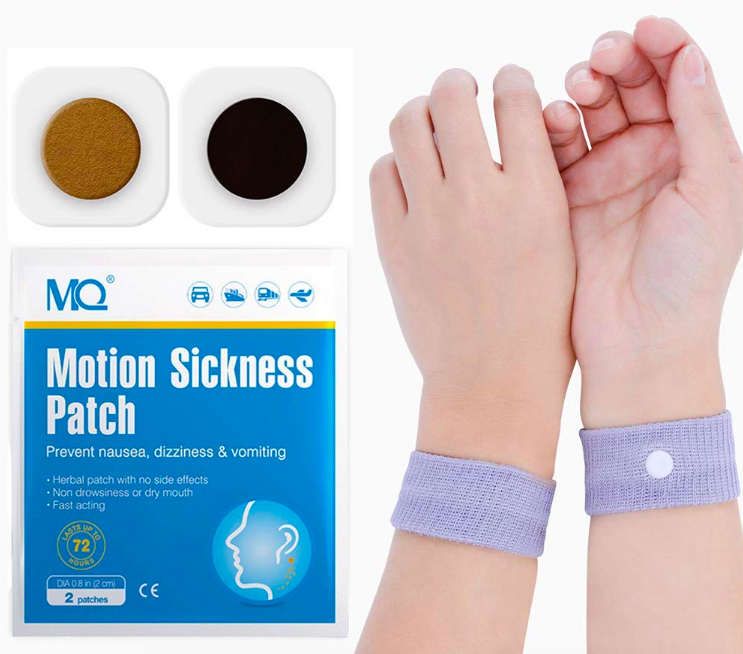 package with two hands wearing the bands
