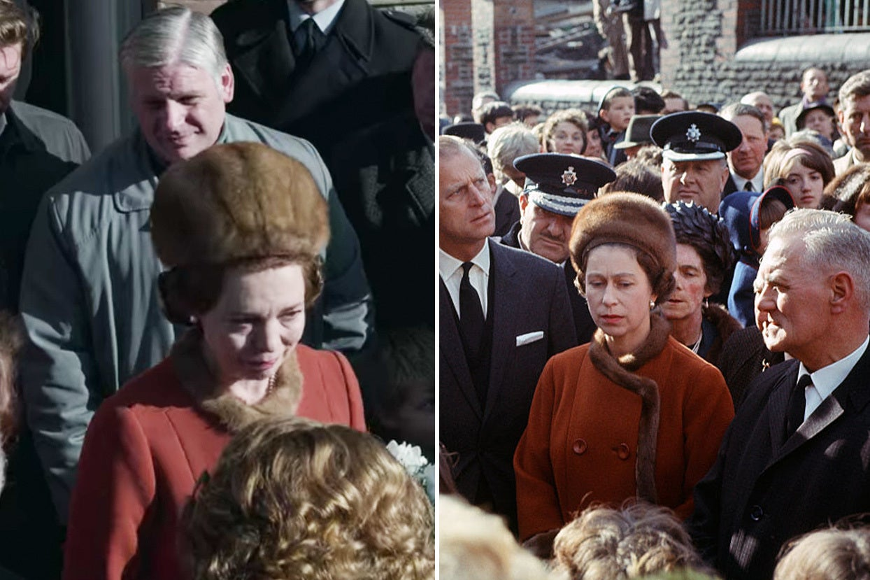 """Here's What """"The Crown"""" Episodes Look Like Vs. The Real Life Events"""