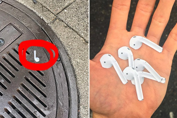 I Can't Decide If This AirPod Sticker Prank Is Hilariously Evil Or Just Plain Evil