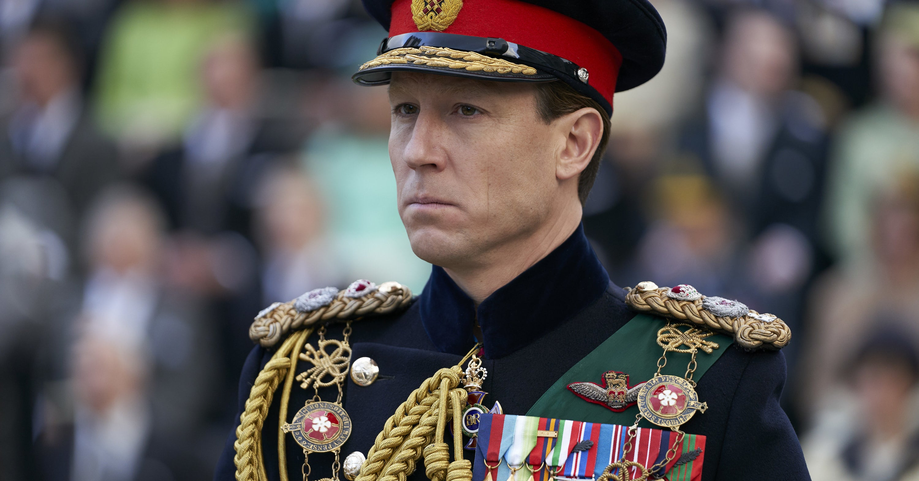 "Tobias Menzies On Playing Prince Philip In ""The Crown"": ""He Wants To Sort Of Break Out"""