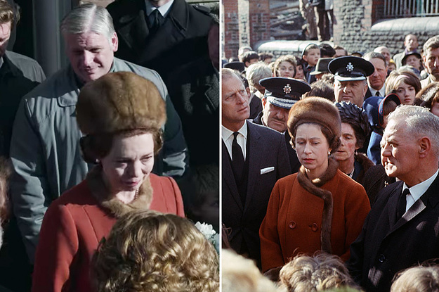 "27 ""The Crown"" Side-By-Sides That Show How Amazingly Accurate The Show Is"