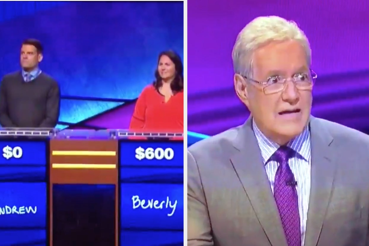 """People Are Dragging """"Jeopardy!"""" Contestants For Not Guessing Tom Hanks Last Night"""