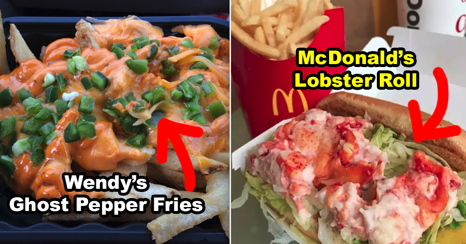 23 Bizarre Fast-Food Menu Items From Around The World thumbnail