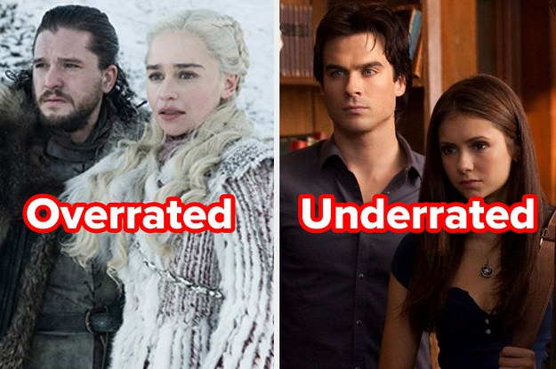 This Overrated/Underrated TV Show Test Will Reveal Which New TV Show You Should Be Watching