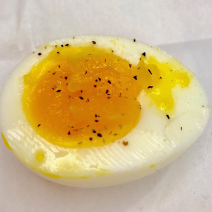 a reviewer's perfectly cooked egg