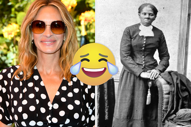 Twitter Is Recasting People Since An Exec Said They Wanted Julia Roberts To Play Harriet Tubman And I Am Hollering, You Hear Me