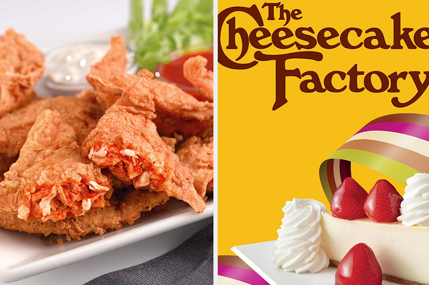 Only A True Cheesecake Factory Fan Can Identify All These Menu Items
