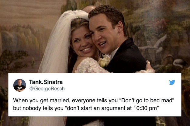 21 Marriage Tweets That Are Too Damn Funny To Feel Guilty About