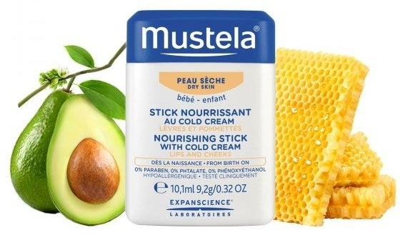 the mustela stick that kind of looks like a deodorant stick