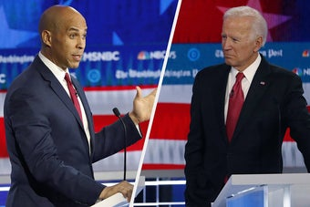 Joe Biden Isn't Ready To Legalize Marijuana, And Sen. Cory Booker Said That Hurts Black People And Latinos