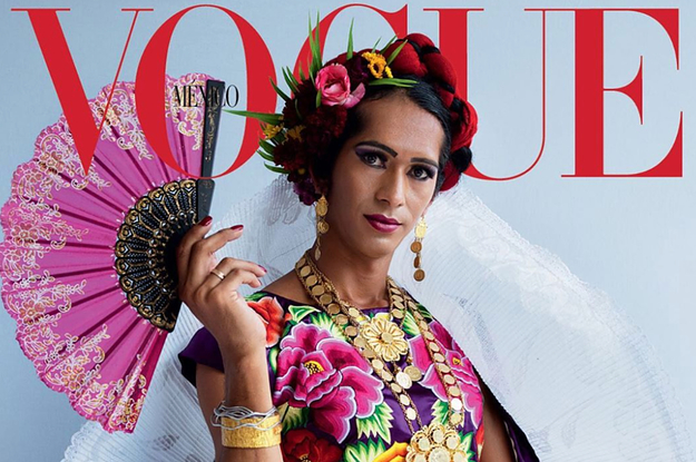 """Vogue Will Feature Its First """"Third-Gender"""" Person On Its Cover Next Month, And The Photos Are Breathtaking"""