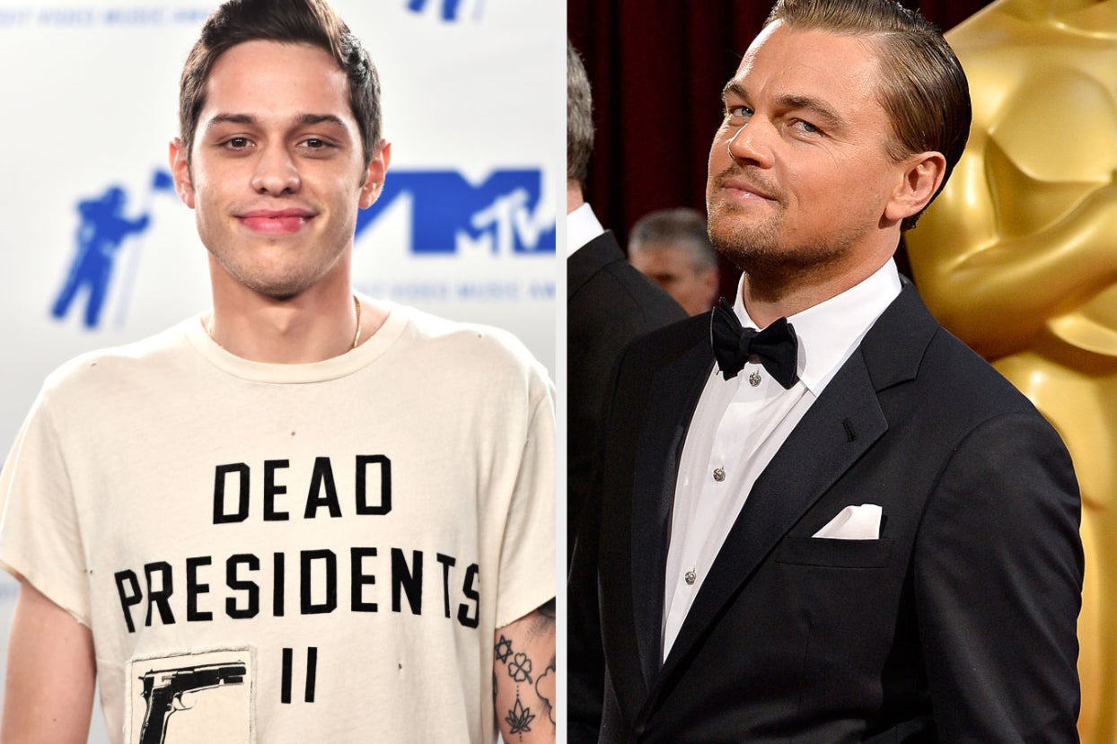 Pete Davidson Revealed His NSFW Crush On Leonardo DiCaprio And I'm Clutching My Pearls