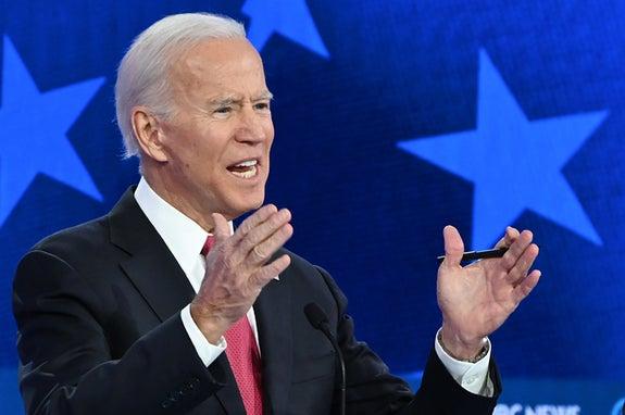 "Joe Biden Said To Support #MeToo We Should ""Keep Punching At"" Domestic Violence"