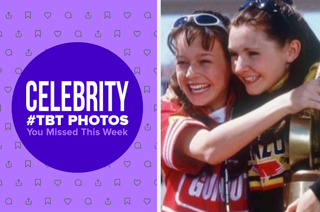 13 Celebrity #TBT Photos That Celebs Shared With Us This Week