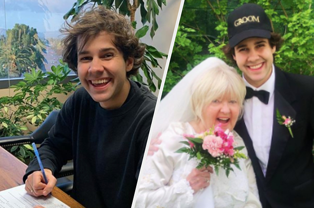 Attention Ladies, David Dobrik Is Officially On The Market After Signing His Divorce Papers Last Night