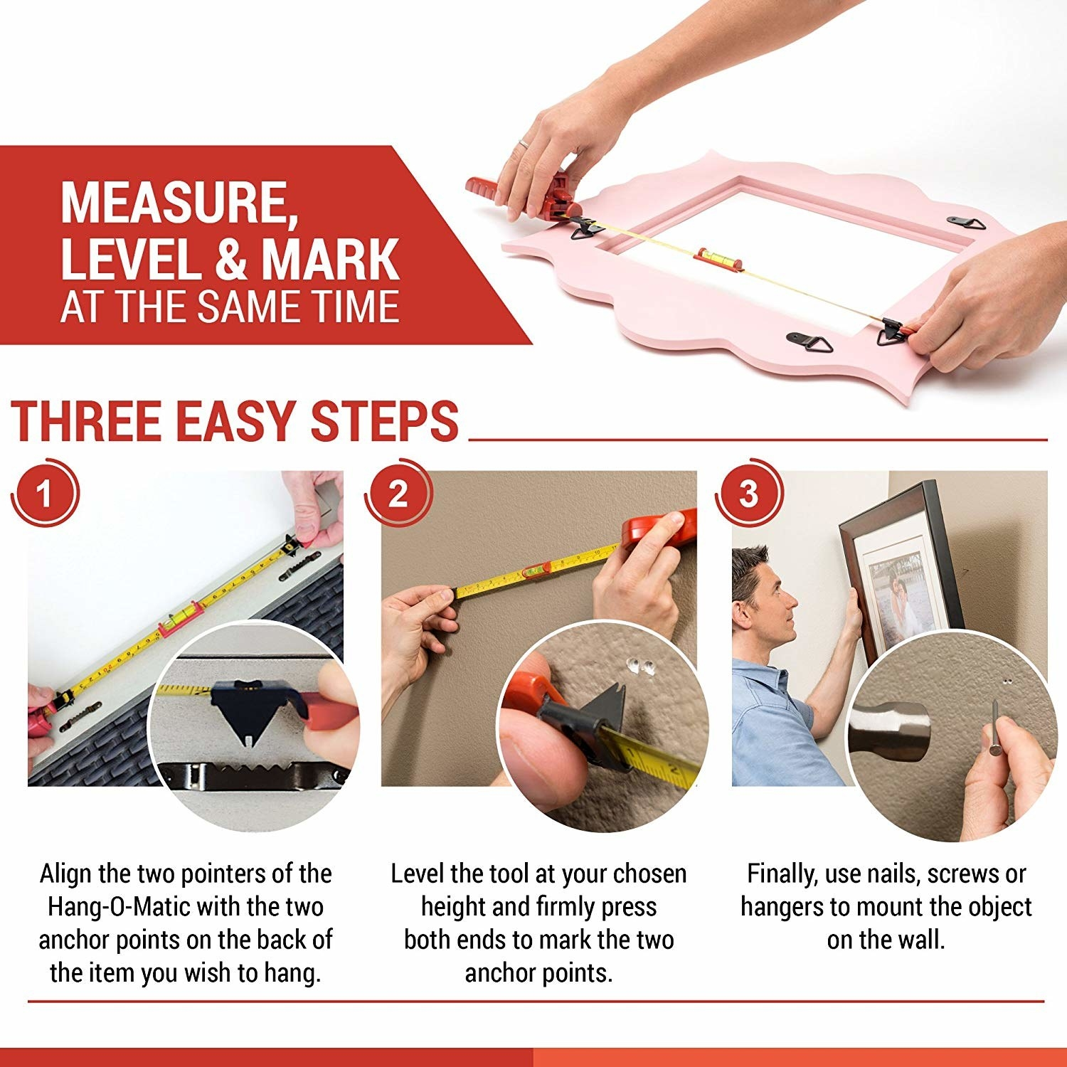 The steps of using the kit