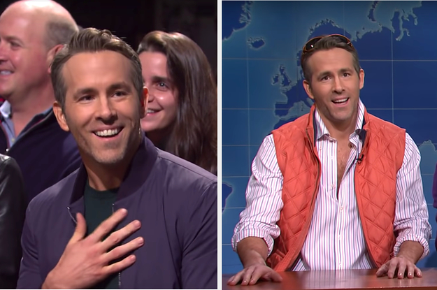 "Ryan Reynolds's Surprise Cameo Was The Highlight Of ""SNL,"" So He Needs To Host Like, Now"
