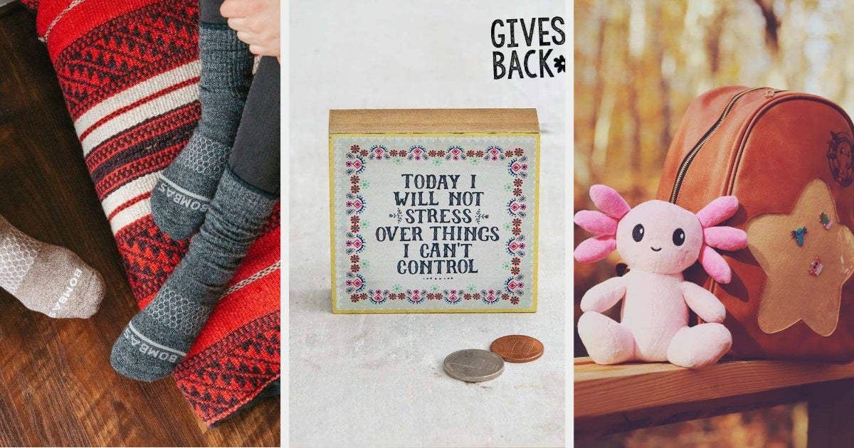 22 Gifts From Stores That Give Back To Good Causes