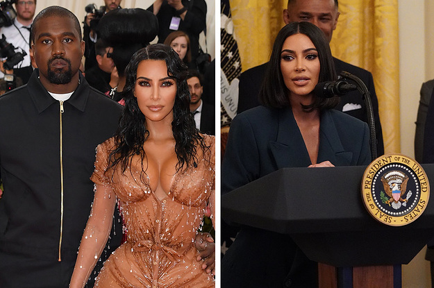 Kim Kardashian Said She's Toning Down Her Sexiness Because Of Kanye, Their Kids, And Her Trips To The White House