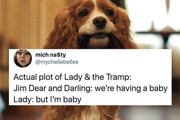 """The New """"Lady And The Tramp"""" Is Actually Great And Here Are The Tweets To Prove It"""