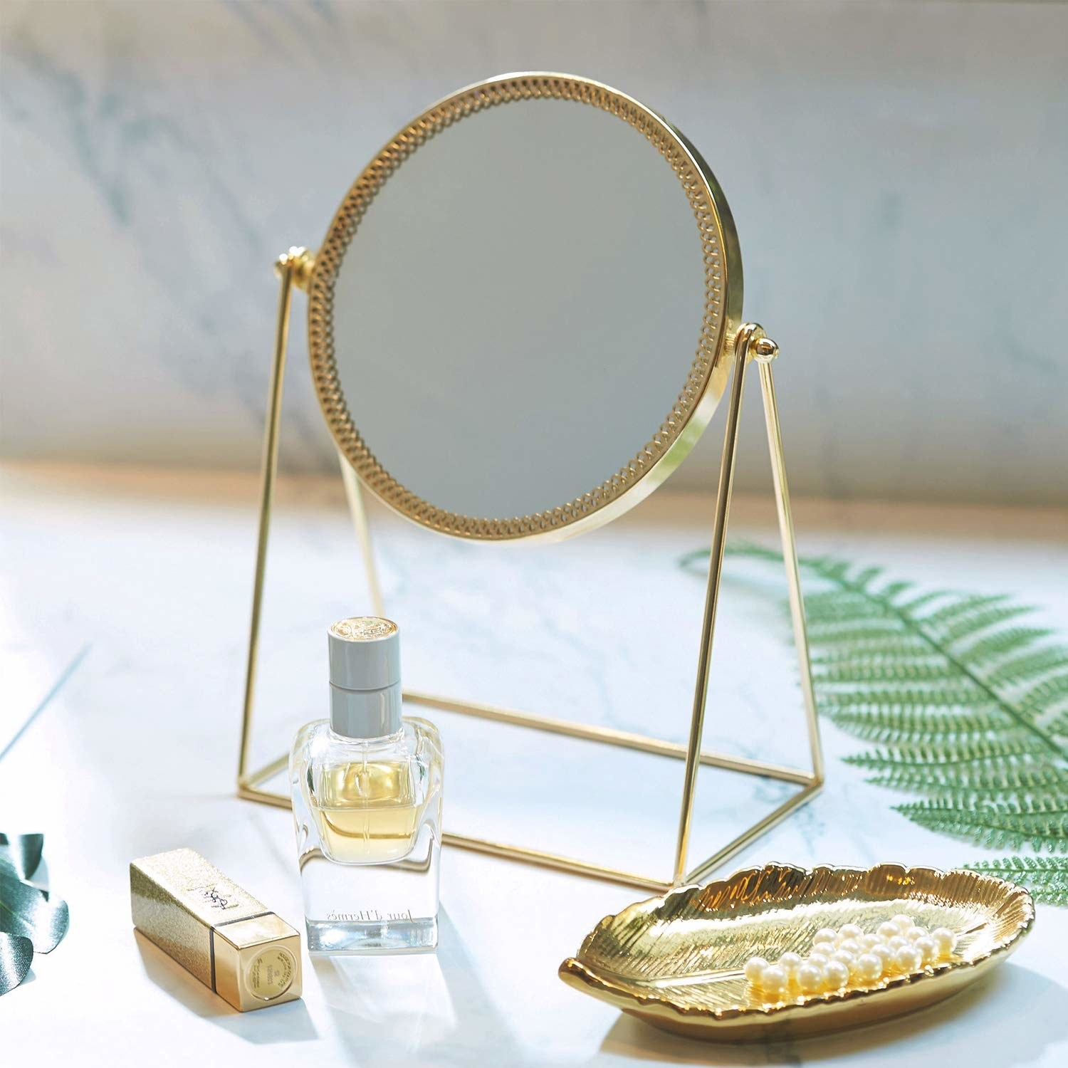 the gold mirror