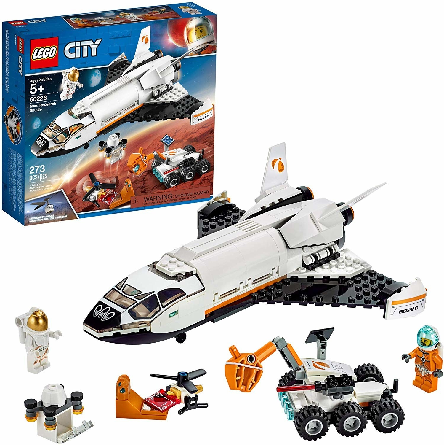 the research shuttle lego set