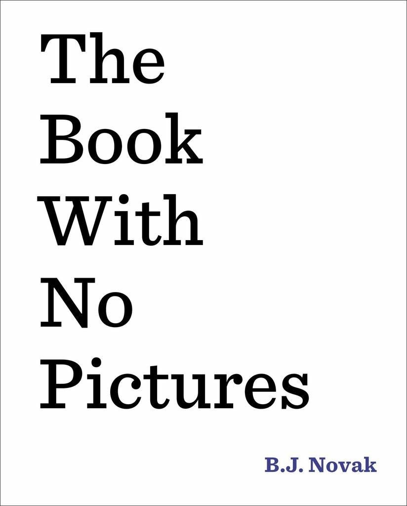 the book with no pictures's cover