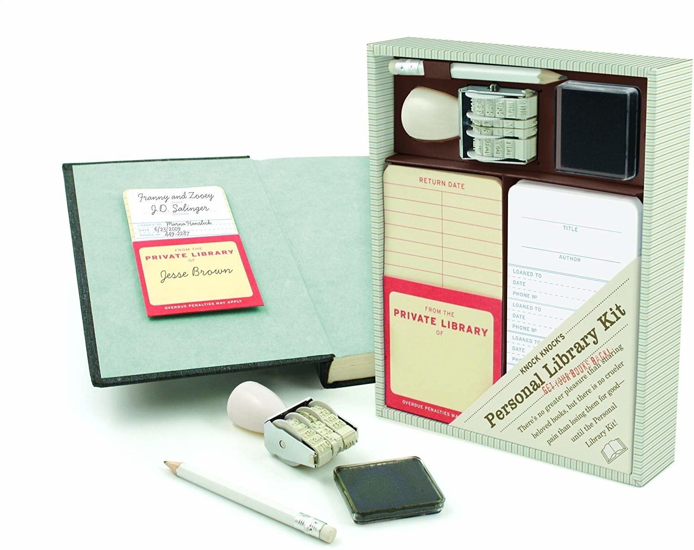 The Knock Knock Original Personal Library Kit