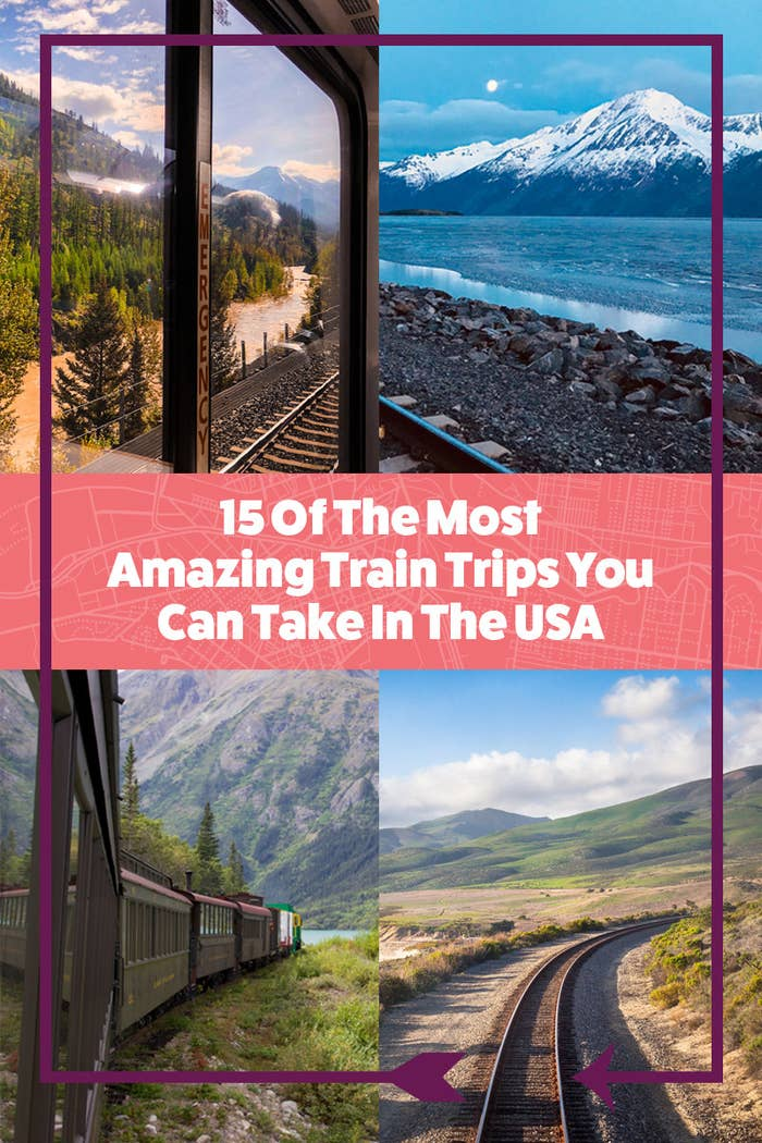 15 Scenic Train Routes In America