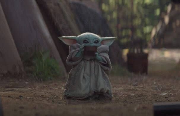 Baby Yoda Sipping Soup Is A Meme And Its 100 Funny And 200 Adorable