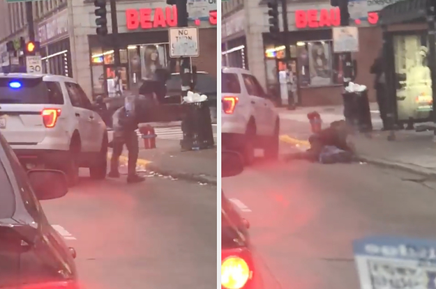 A Video Of A Chicago Cop Body Slamming A Man On The Street Has Sparked An Investigation