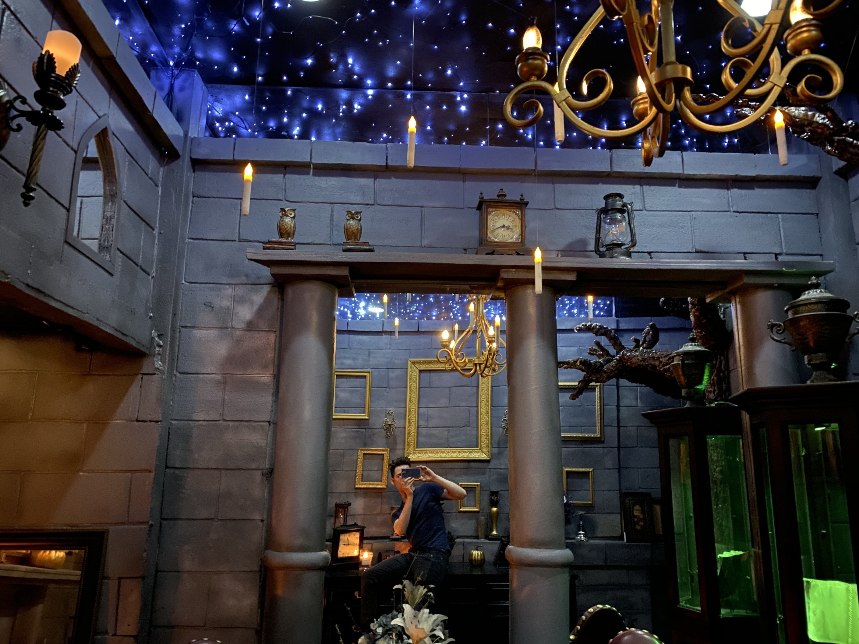 """This """"Harry Potter"""" Fan DIY d His Bedroom Like Hogwarts And"""
