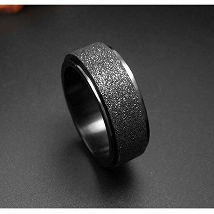 the ring in dark gray