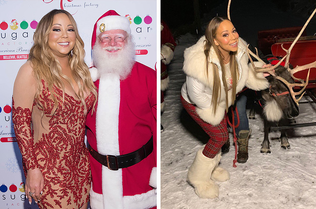 Flipboard: Mariah Carey wakes up after Halloween with a ...
