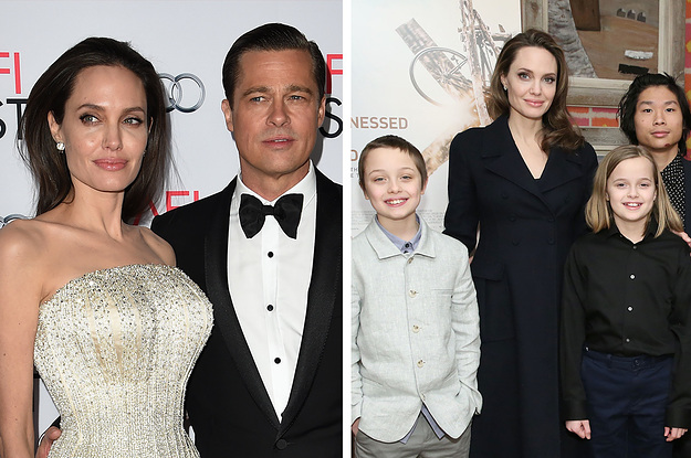 Angelina Jolie Appeared To Throw Shade At Brad Pitt After Being Asked About Living Abroad With Their Children