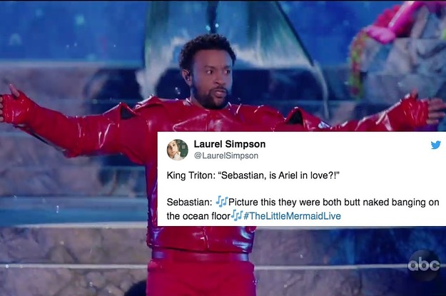 """23 Tweets About """"Little Mermaid Live"""" That Are So Hilarious And So Accurate"""